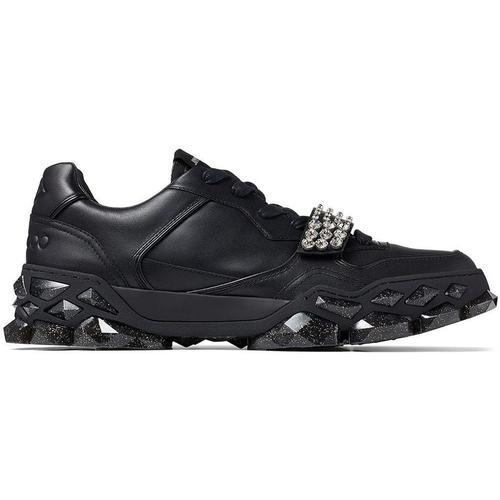 Jimmy Choo Diamond X Sneakers mit Kristallen