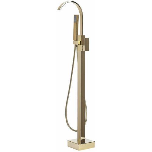 Armatur Freistehend Gold Messing Zink Wannenmischer/ Exklusive freistehende Badewannenarmatur