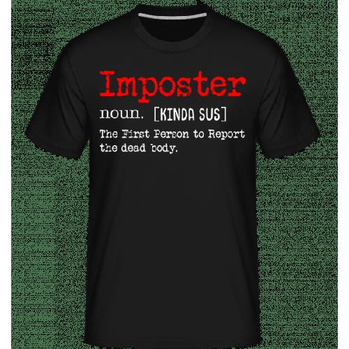 Imposter Definition Design - Shirtinator Männer T-Shirt