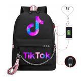 Tik Tok – sac à dos avec chargeu...