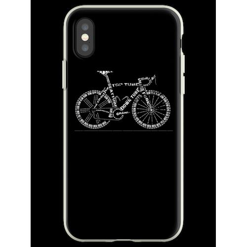Fahrradgeschenk Drahtesel Flexible Hülle für iPhone XS