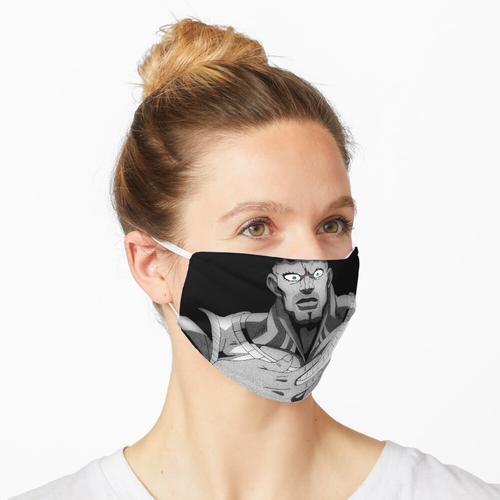Professioneller Held Maske