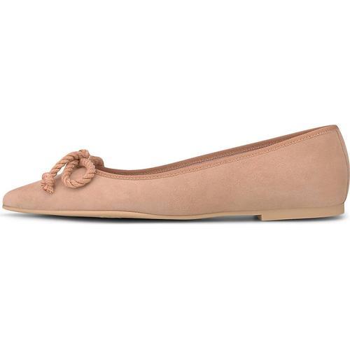 Pretty Ballerinas, Ballerina in rosa, Ballerinas für Damen Gr. 38 1/2