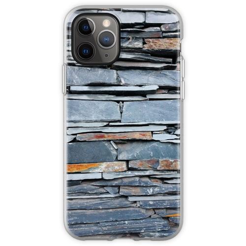 Steinplattenmauer Flexible Hülle für iPhone 11 Pro