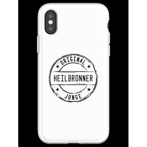 Heilbronn Heilbronner Junge Flexible Hülle für iPhone XS