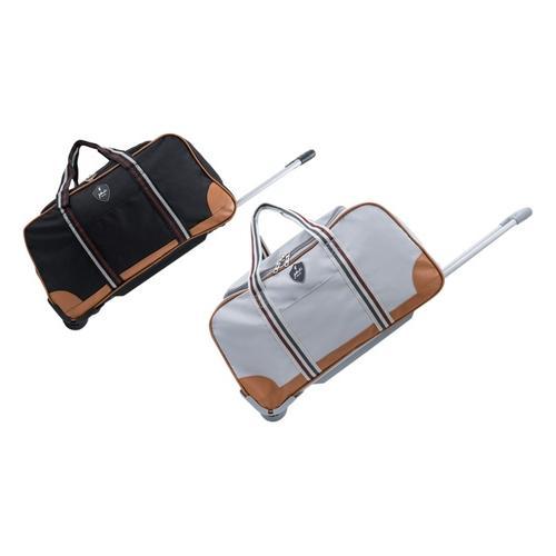 Reisetasche Jasper: Mittelgroße Reisetasche/ Grau