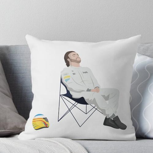 Fernando Alonso Liegestuhl F1 Kissen