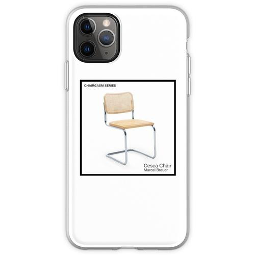 STUHLSERIE - Cesca von Marcel Breuer Flexible Hülle für iPhone 11 Pro Max