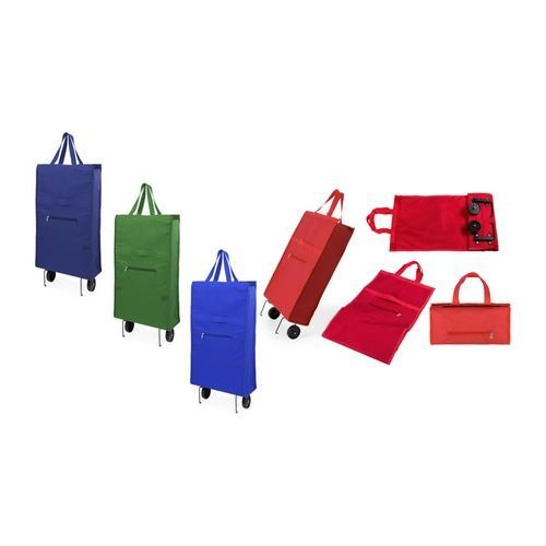 Faltbarer Einkaufswagen: Rot