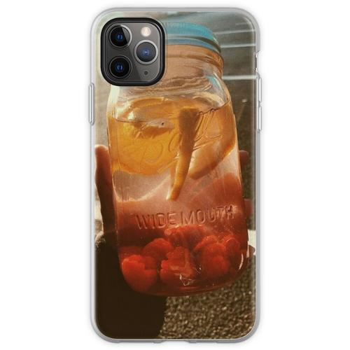 Orangenlimonade Flexible Hülle für iPhone 11 Pro Max