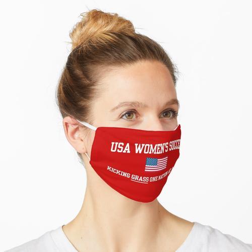 USA FRAUENFUSSBALL Maske
