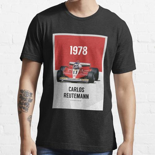 Carlos Reutemann - F1 1978 Essential T-Shirt