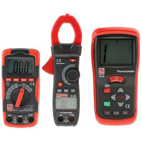 RS14, RS380, RS42 Multimeter - Rs Pro