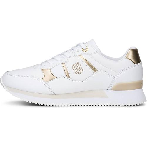 Tommy Hilfiger, Sneaker Th Interlock City in weiß, Sneaker für Damen Gr. 41