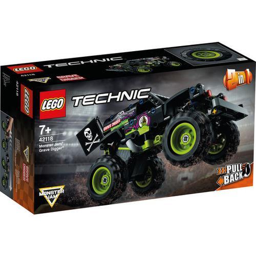 LEGO®Technic 42118 Monster Jam®Grave Digger®, bunt