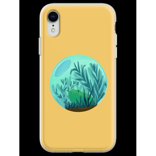 Frosch Terrarium Flexible Hülle für iPhone XR