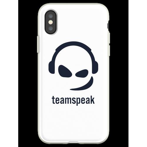 Teamspeak Flexible Hülle für iPhone XS
