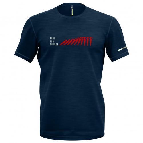 Crazy Idea - Joker - T-Shirt Gr S blau