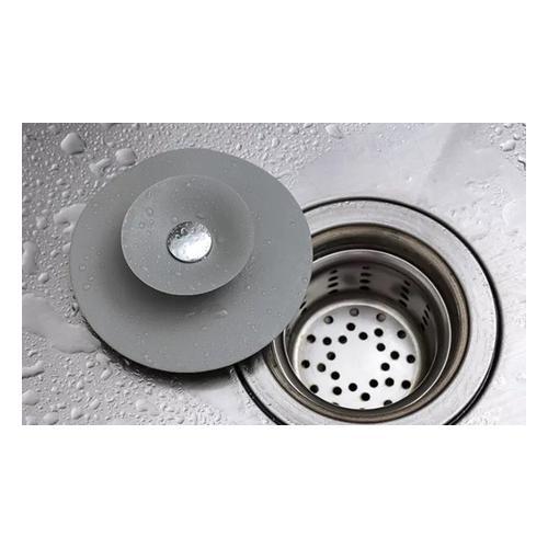 Silikon-Abdeckung für Waschbecken und Abflüsse: 2er-Pack