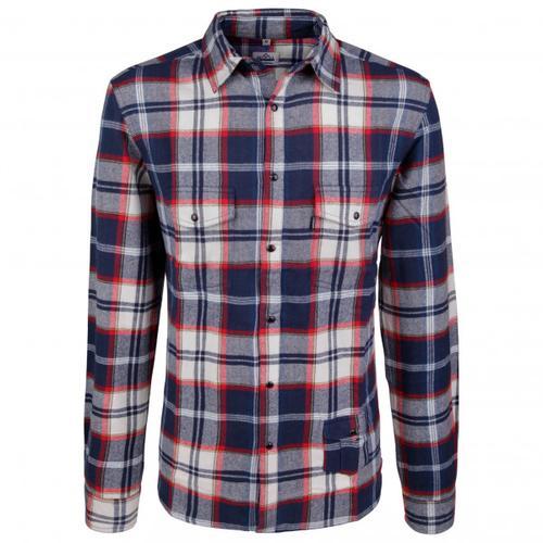 Alprausch - Herr Fuchs Shirt - Hemd Gr M;S grau/blau
