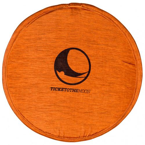 Ticket to the Moon - Pocket Frisbee - Strandspielzeug Gr One Size;Ø 25 cm rot