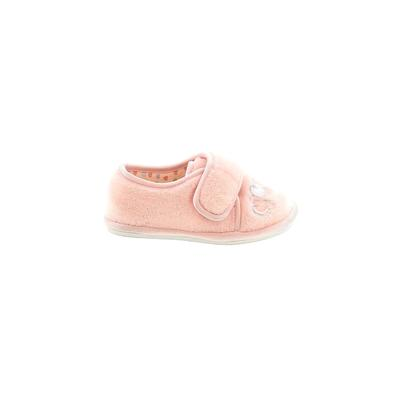 Koala Kids Sneakers: Pink Solid Shoes - Size 5
