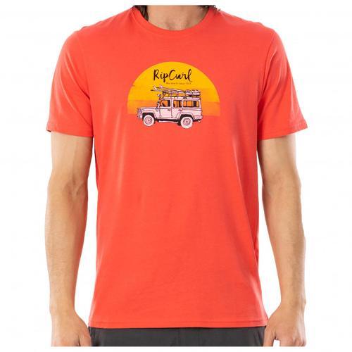 Rip Curl - Endless Search Tee - T-Shirt Gr L rot/beige