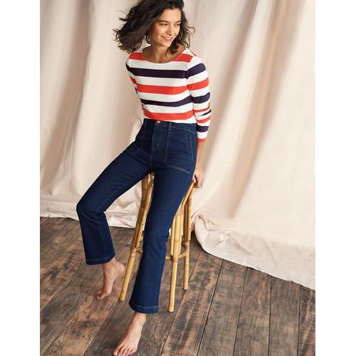 Boden 7/8-Utility-Jeans mit Schlag DDN