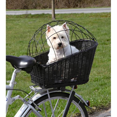 TRIXIE Tierfahrradkorb, bis 8 kg, BxTxH: 36x53x55 cm schwarz Tierfahrradkorb Hundetransport Hund Tierbedarf