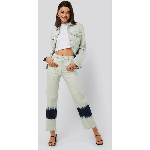 NA-KD Jeans Mit Hoher Taille
