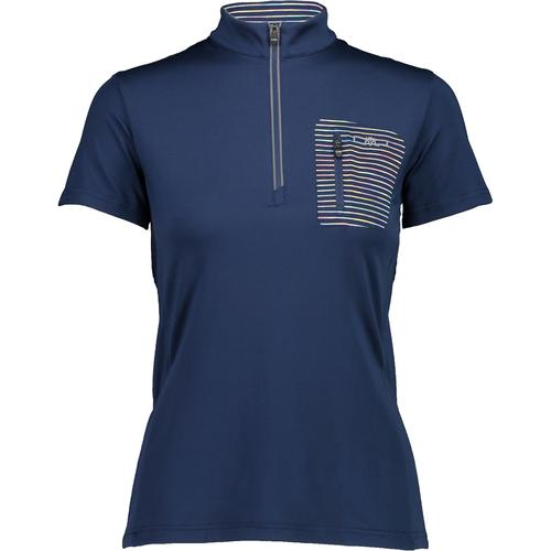 CMP WOMAN FREE BIKE T-SHIRT Trikot Damen in blue-solarium, Größe 44