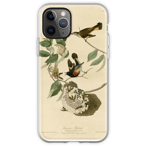 Amerikanischer Gartenrotschwanz, Birds of America Flexible Hülle für iPhone 11 Pro