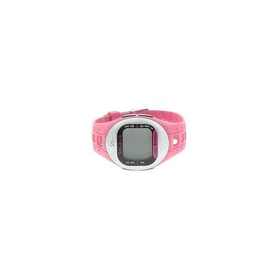 Soleus Watch: Pink Solid Accesso...