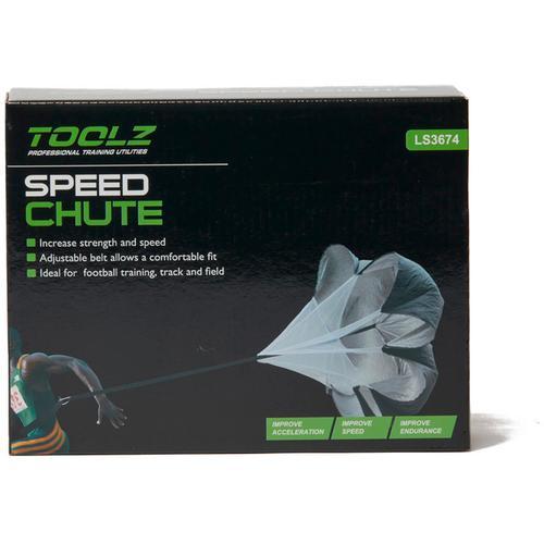 TOOLZ Speed Chute Fitnessgerät in schwarz, Größe Einheitsgröße