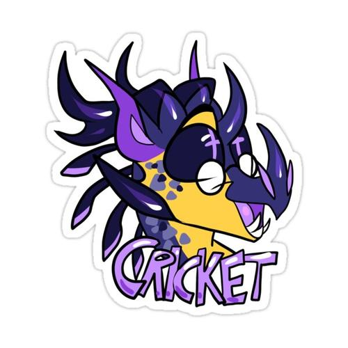 Cricket Sticker [Wings of Fire] Sticker