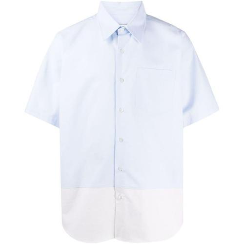 AMI Zweifarbiges Hemd