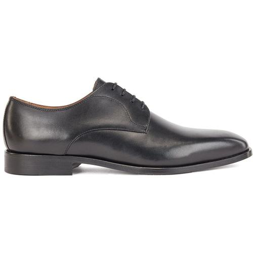BOSS by Hugo Boss Derbys aus poliertem Leder