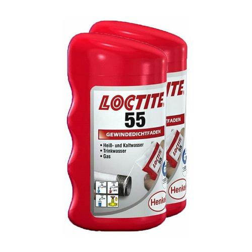 Loctite 55, 2x160 Gewindedichtfaden Gewindeabdichtung Dichtfaden Gewindedichtung