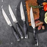 Couteaux à Steak en acier inoxyd...