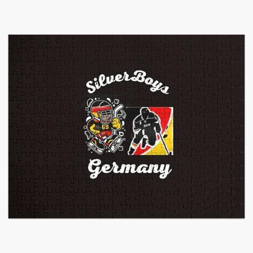 Deutschland Eishockey, Deutschland Hockey Liga, deutsche Hockey Trikots, deutsche Hockey Lige Puzzle