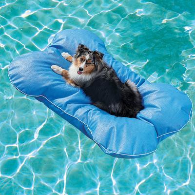 Dog Bone Pool Float - Pool Blue,...