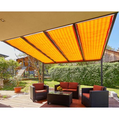 GUTTA Seilspannsonnensegel Golden Crop, BxT: 115,5x290 cm orange Sonnensegel Sonnenschirme -segel Gartenmöbel Gartendeko