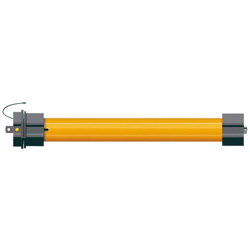 SCHELLENBERG Rollladenmotor 20506 Mini PREMIUM 6Nm, Rohrmotor 40 mm, Funk Smart Home gelb Rolllädenmotor Rollläden Bauen Renovieren