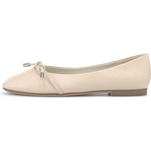 Tamaris, Ballerina in weiß, Ballerinas für Damen Gr. 37