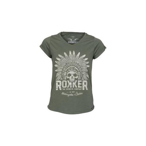 Rokker Indian Bonnet Damen Tshirt S