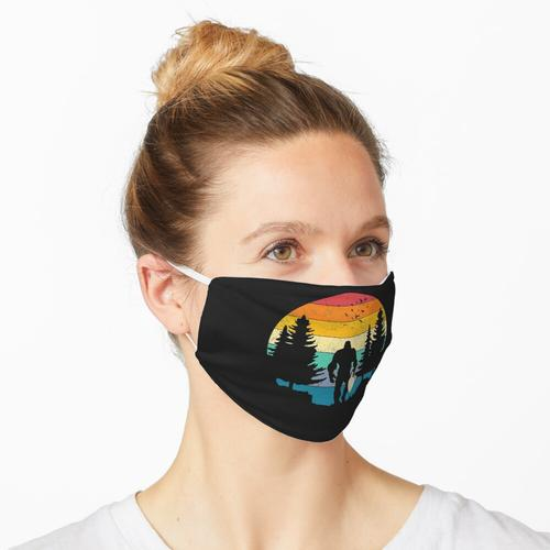 Bigfoot Mit Morchelpilz Maske