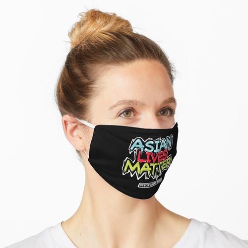 Asiatisches Leben ist wichtig und stoppt asiatischen Hass Maske