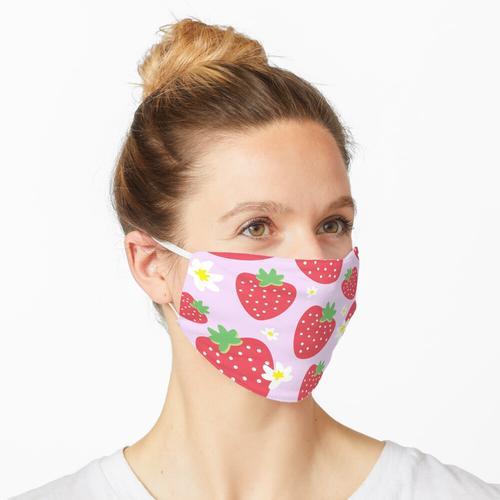 Erdbeerfelder Maske