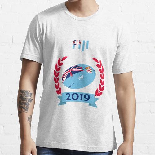 Cooles Fidschi Rugby Fan Shirt - Fidschi 2019 - RWC Fidschi 2019 T-Shirt - Fidschi Essential T-Shirt
