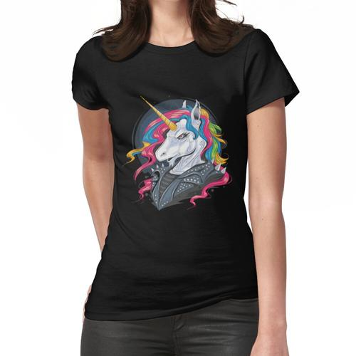 Unicorn Rider Punk Jacke Frauen T-Shirt